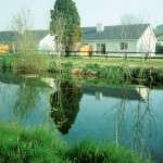 Your self catering cottage overlooks the Grand Canal